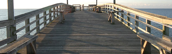Visit the Ocean Isle Beach Pier in North Carolina for your Autumn Vacation
