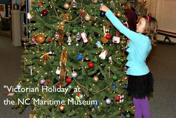 Victorian Holiday at the Southport, North Carolina Maritime Museum