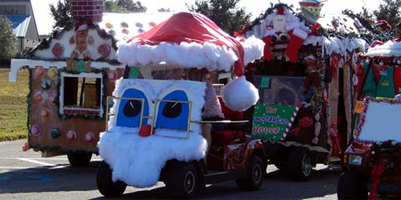 Christmas Parade at Ocean Isle Beach