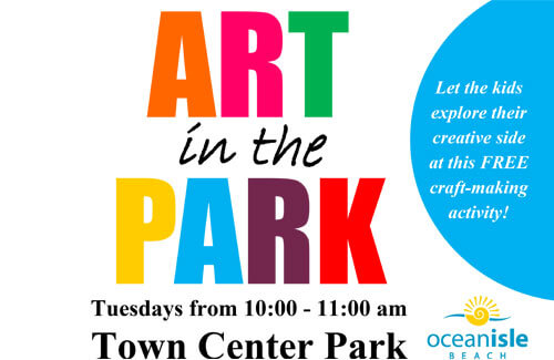 Art in the Park - Crafts for Kids